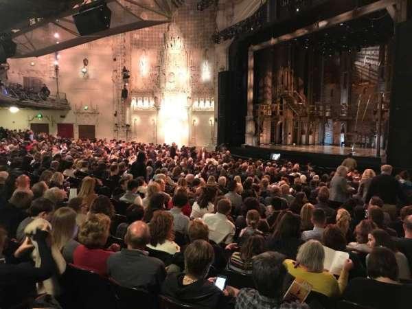 Orpheum Theatre (San Francisco), secção: Orchestra R, fila: Y, lugar: 6