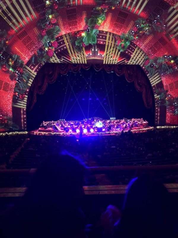 Radio City Music Hall, secção: 1st mezzanine 5, fila: B, lugar: 507