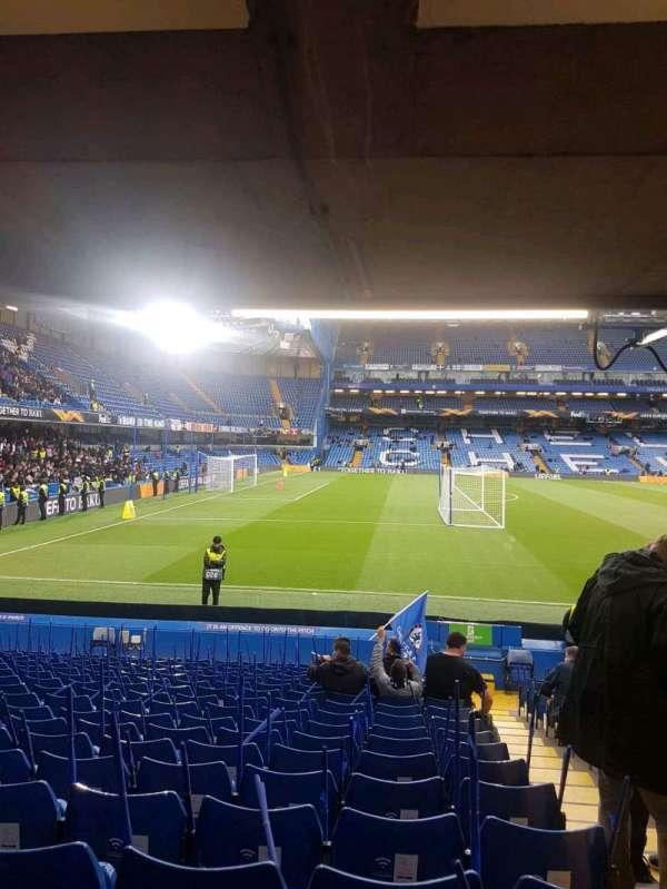 Stamford Bridge, secção: east lower south family, fila: u, lugar: 0025