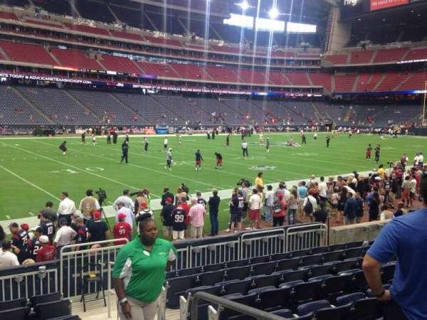 NRG Stadium, secção: 138, fila: J, lugar: 1