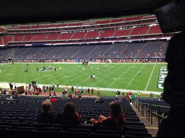 NRG Stadium, secção: 103, fila: JJ, lugar: 23