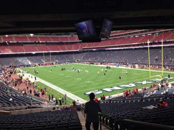 NRG Stadium, secção: 139, fila: JJ, lugar: 1