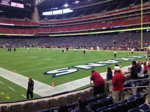 NRG Stadium, secção: 139, fila: G, lugar: 1