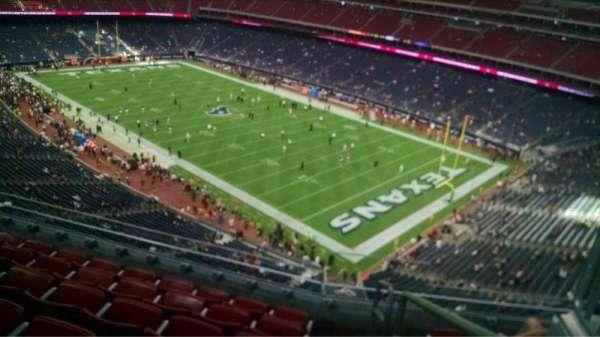 NRG Stadium, secção: 502, fila: M, lugar: 1