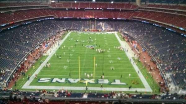 NRG Stadium, secção: 647, fila: A, lugar: 19