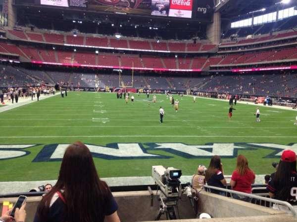 NRG Stadium, secção: 137, fila: J