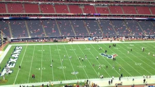 NRG Stadium, secção: 511, fila: M, lugar: 1