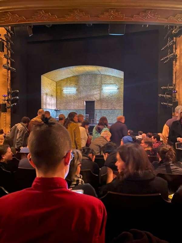 John Golden Theatre, secção: Orchestra C, fila: O, lugar: 103