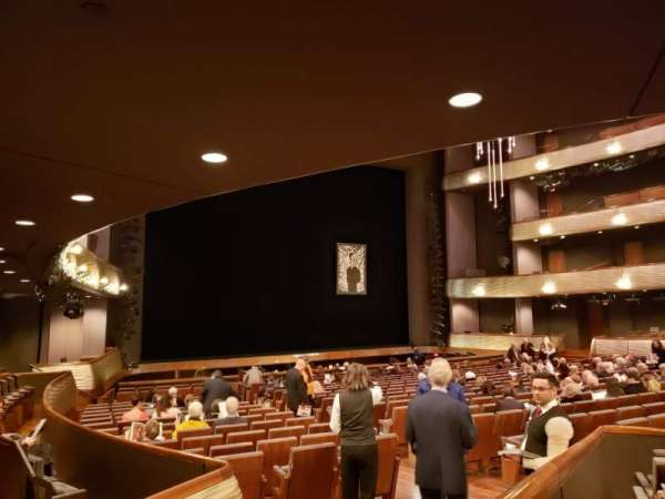 Winspear Opera House, secção: C Orch Terrace Left, fila: Y, lugar: 12