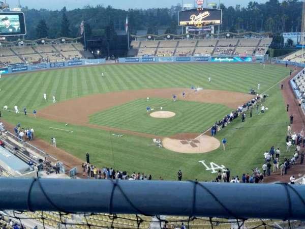 Dodger Stadium, secção: 5RS, fila: A, lugar: 1