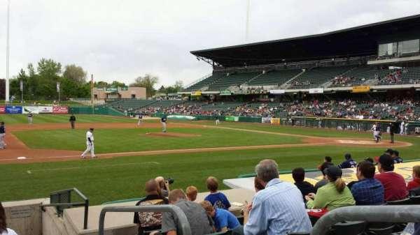 Smith's Ballpark, secção: 19, fila: 10, lugar: 1