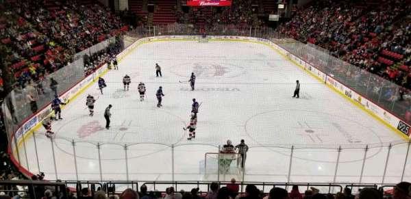 Floyd L. Maines Veterans Memorial Arena, secção: 8, fila: K, lugar: 14