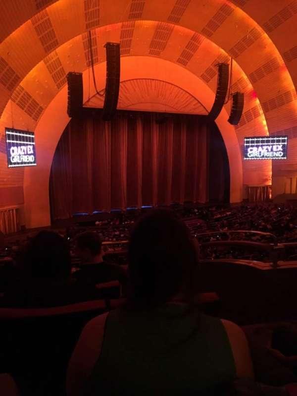 Radio City Music Hall, secção: 1ST Mezzanine 7, fila: C, lugar: 703