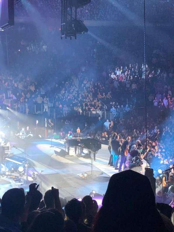 Madison Square Garden, secção: 114, fila: 15, lugar: 18