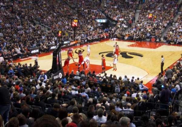 Scotiabank Arena, secção: 112, fila: 20, lugar: 16