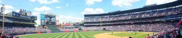 Turner Field, secção: 120L, fila: 23, lugar: 102