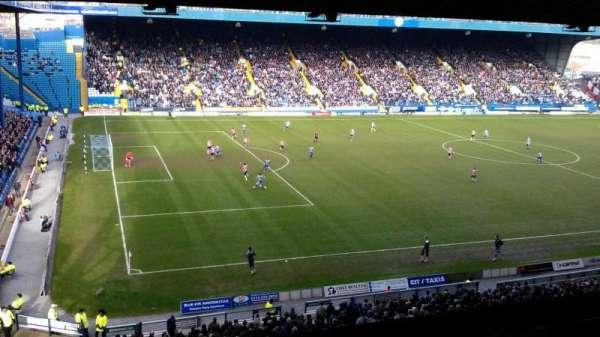 Hillsborough Stadium, secção: Grandstand M5, fila: A, lugar: 10