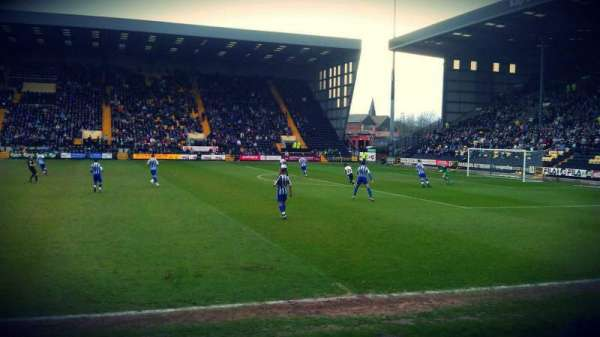 Meadow Lane, secção: X3, fila: E, lugar: 70
