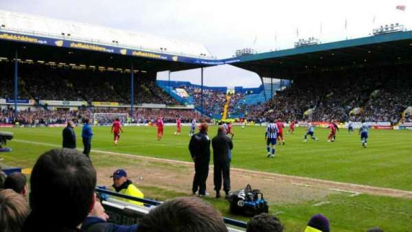 Hillsborough Stadium, secção: South Stand, DD, fila: C, lugar: 162