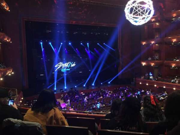 Prudential Hall at the New Jersey Performing Arts Center, secção: TIER 1 L, fila: D, lugar: 19