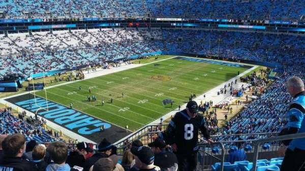 Bank of America Stadium, secção: 550, fila: 5, lugar: 2