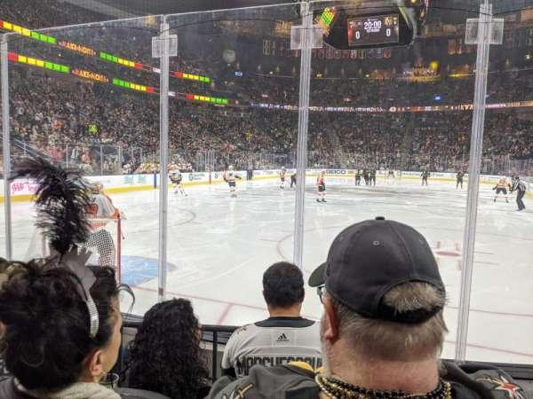 T-Mobile Arena, secção: 11, fila: C, lugar: 10