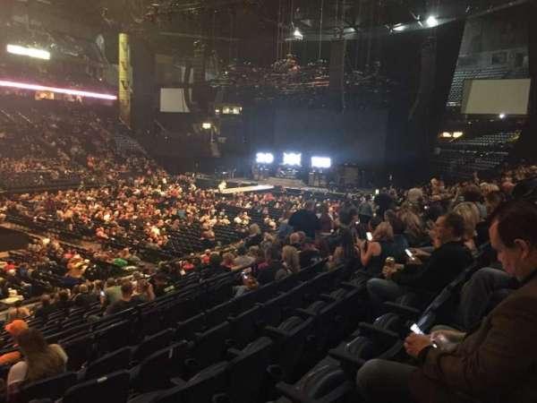 Bridgestone Arena, secção: 104, fila: F, lugar: 22