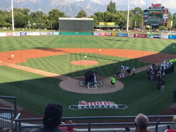 Smith's Ballpark, secção: 109, fila: 5, lugar: 16