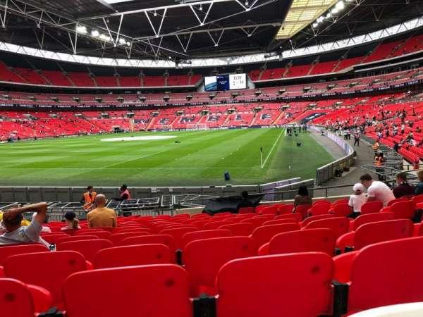 Wembley Stadium, secção: 108, fila: 16, lugar: 182