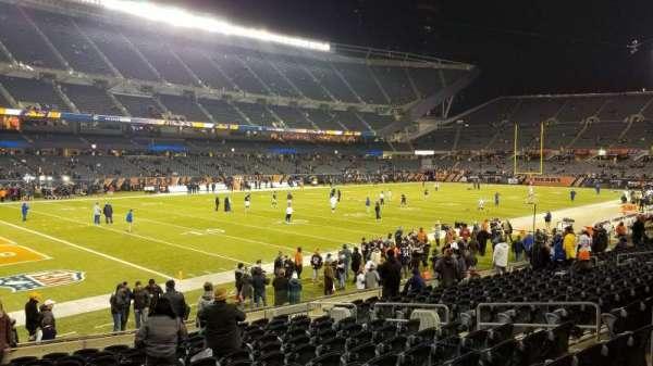 Soldier Field, secção: 115, fila: 14, lugar: 8