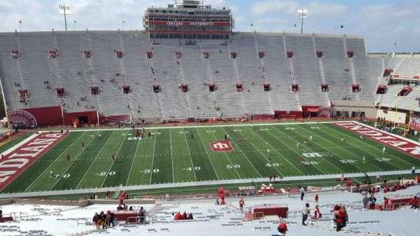 Memorial Stadium (Indiana), secção: 28, fila: 67, lugar: 14
