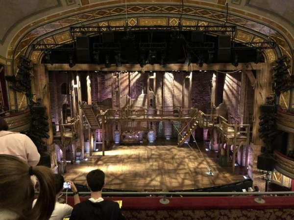 Richard Rodgers Theatre, secção: Front Mezzanine C, fila: D, lugar: 108