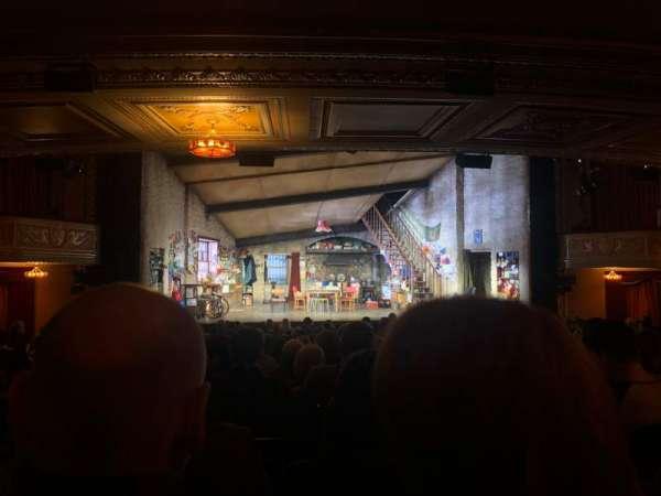Bernard B. Jacobs Theatre, secção: Orchestra C, fila: R, lugar: 114