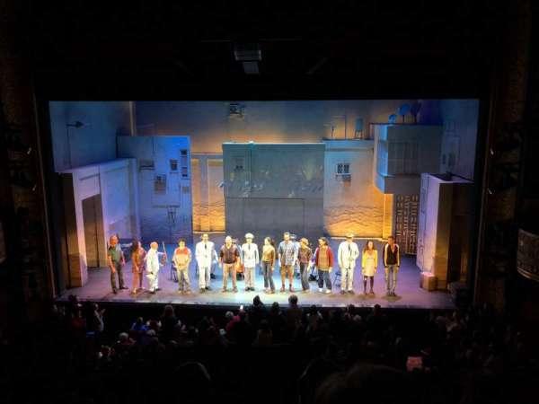 Ethel Barrymore Theatre, secção: Front Mezzanine C, fila: C, lugar: 110