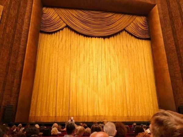 Metropolitan Opera House - Lincoln Center, secção: Orchestra, fila: N, lugar: 103