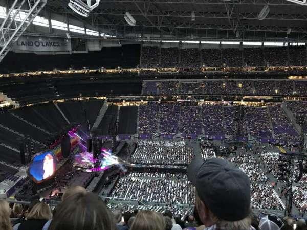 U.S. Bank Stadium, secção: 341, fila: 14, lugar: 23