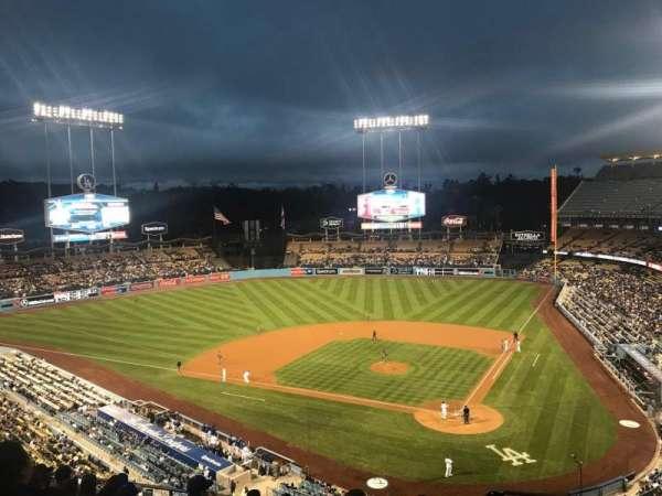Dodger Stadium, secção: 7RS, fila: J, lugar: 2