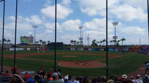 BayCare Ballpark, secção: 112, fila: 11, lugar: 3