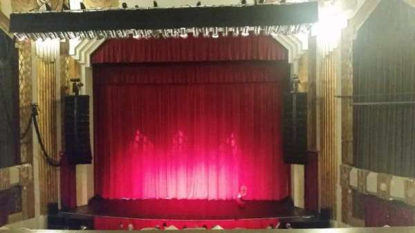Paramount Theatre (Seattle), secção: Mezzanine 12, fila: B, lugar: 5