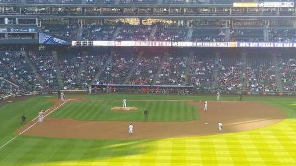 Coors Field, secção: 206, fila: 14, lugar: 17