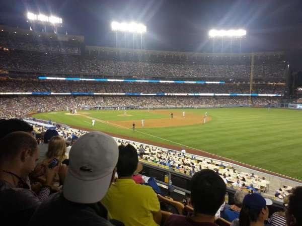 Dodger Stadium, secção: 158LG, fila: E, lugar: 9
