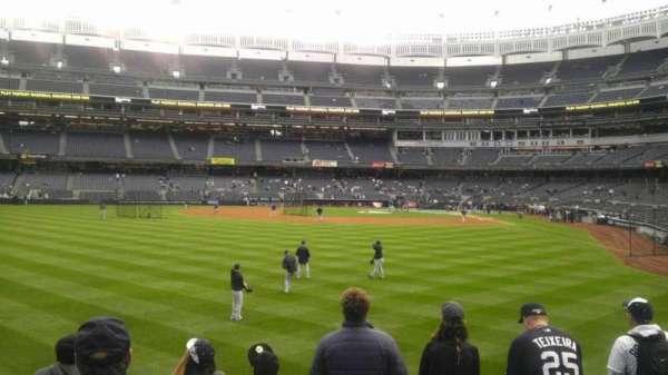 Yankee Stadium, secção: 136, fila: 12, lugar: 19