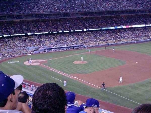 Dodger Stadium, secção: 36RS, fila: D, lugar: 14