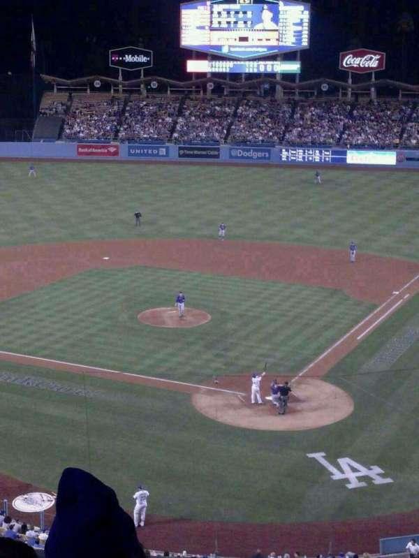 Dodger Stadium, secção: 5RS, fila: D, lugar: 12