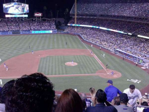 Dodger Stadium, secção: 15RS, fila: K, lugar: 2