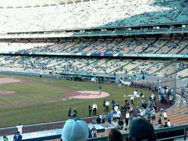 Dodger Stadium, secção: 133LG, fila: G, lugar: 6