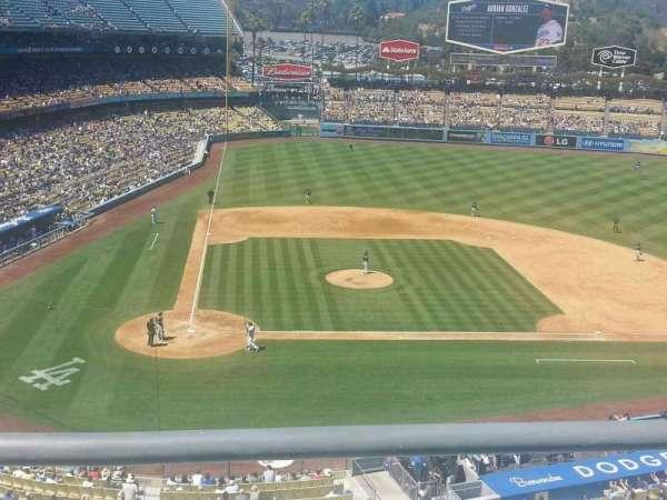 Dodger Stadium, secção: 8RS, fila: B, lugar: 15