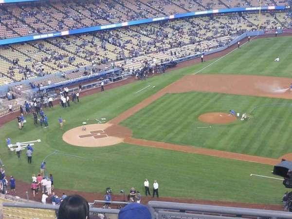 Dodger Stadium, secção: 20RS, fila: F, lugar: 7