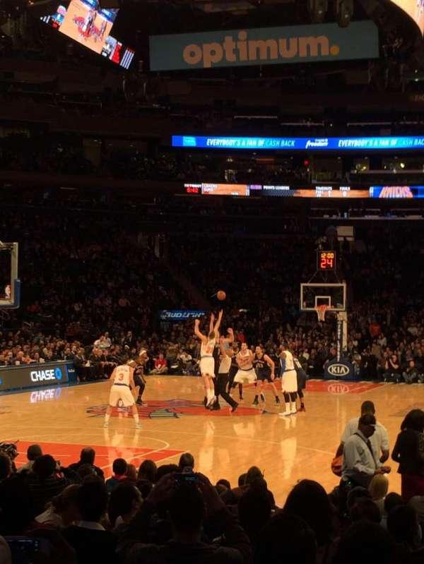 Madison Square Garden, secção: 9, fila: 13, lugar: 9