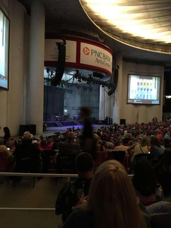 PNC Bank Arts Center, secção: 204, fila: D, lugar: 59
